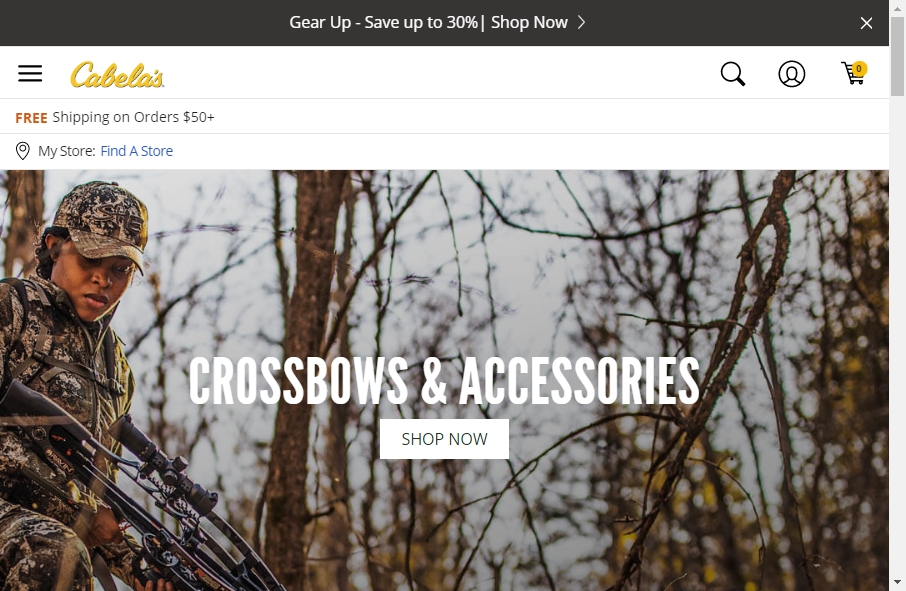 9 Examples of Inspirational Hunting Websites 22