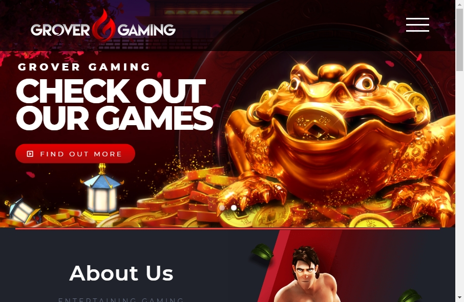 Gaming Websites Examples 24