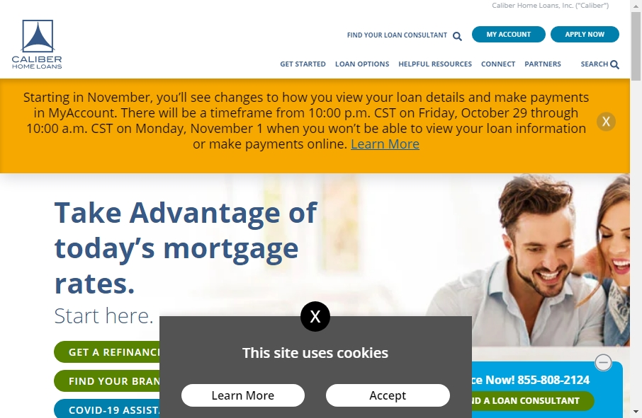 11 Examples of Inspirational Mortgage Websites 21