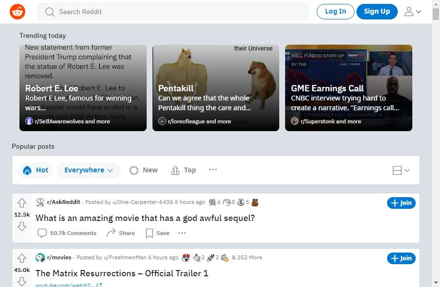 Forum Websites Examples 26