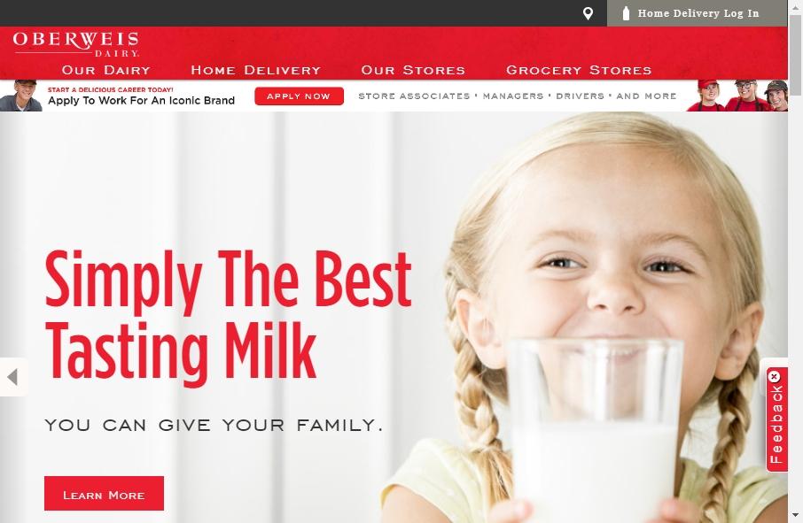 Dairy Website Design 26