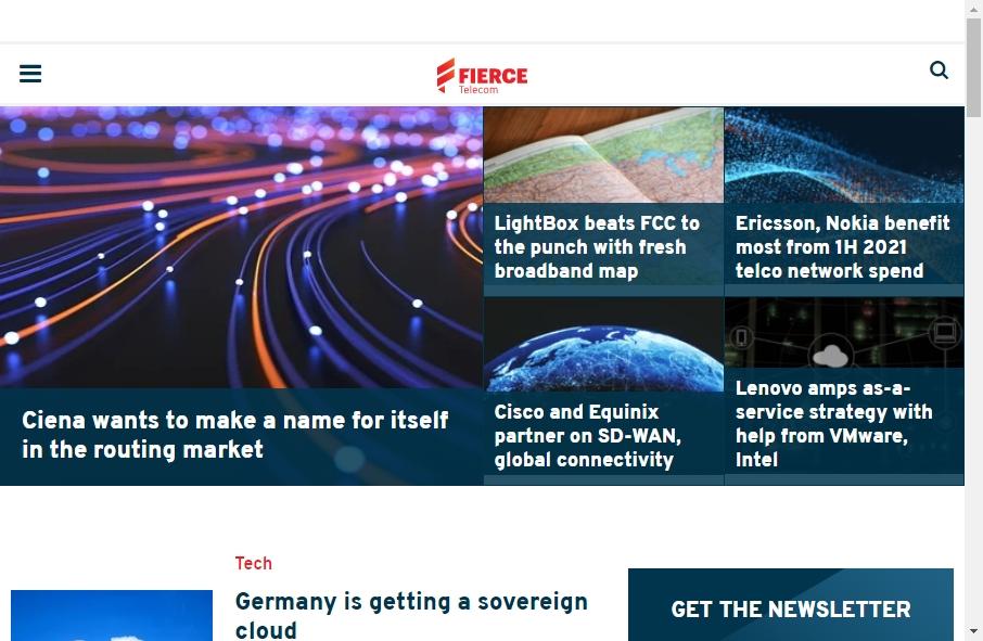 Telecom Website Design 25