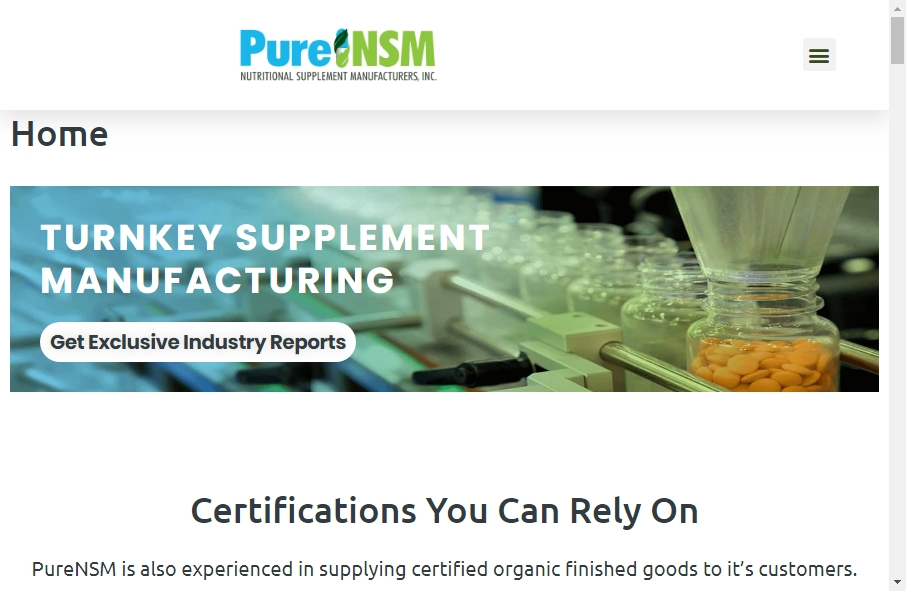 11 Great Nutritional Website Examples 23