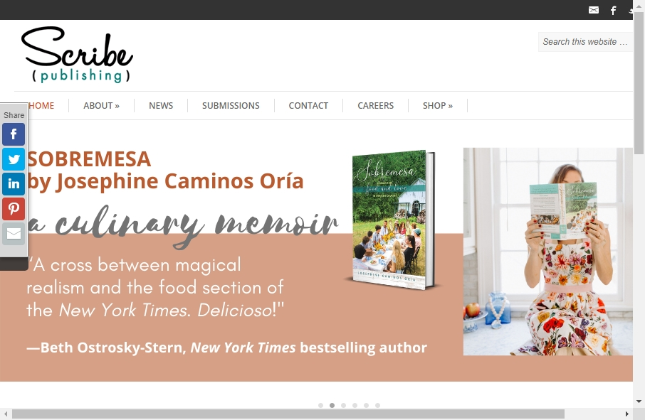 13 Great Publishing Website Examples 26