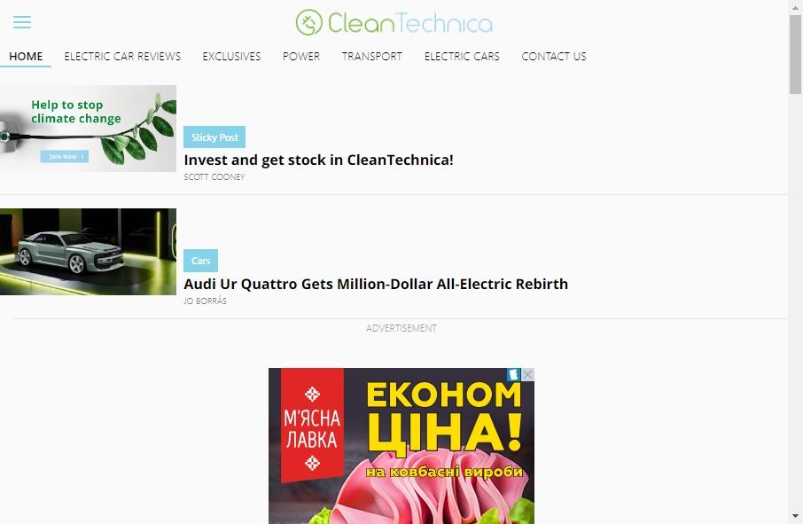 Alternative Energy Website Designs 23