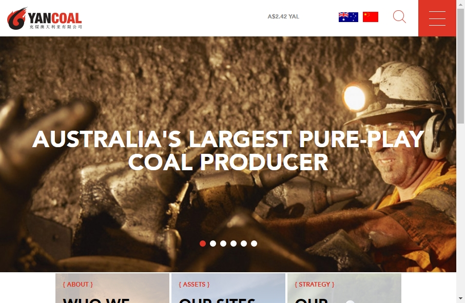 Examples of Coal Mining Websites With Fantastic Designs 23