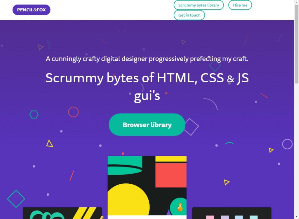 Fun Web Designs To Inspire You 26