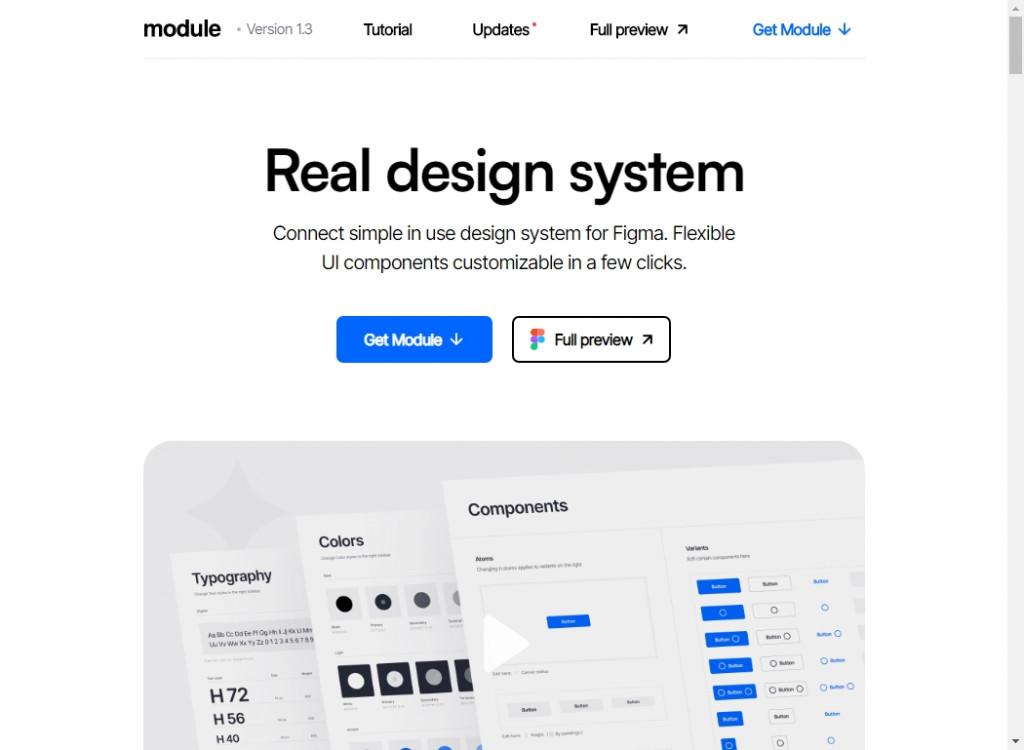 Clean Website Designs 22