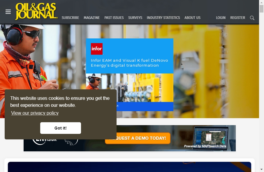 Examples of Natural Gas Websites With Fantastic Designs 23