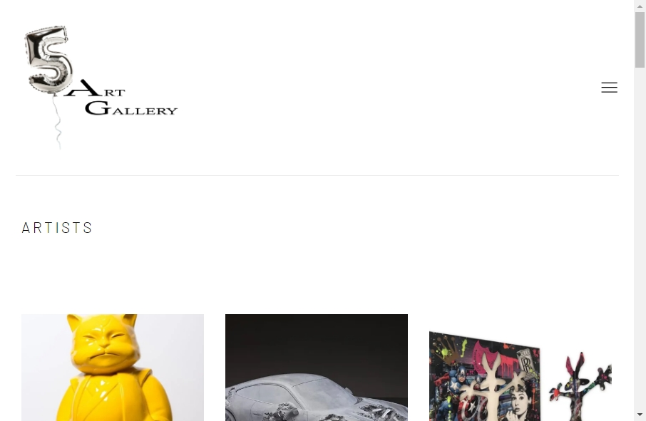 15 Examples of Gallery Websites With Fantastic Designs 24