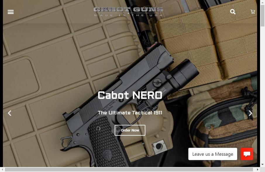 15 beautifully designed Gun website examples in 2021 26