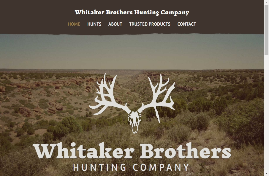 9 Examples of Inspirational Hunting Websites 23